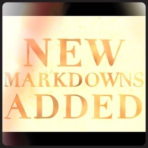 New Markdowns Added Daily!